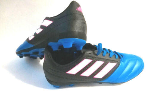 ADIDAS ACE 17.4 FXG Junior Blu Nero bb55922 scarpa calcio tg 36 2//3 UK 4