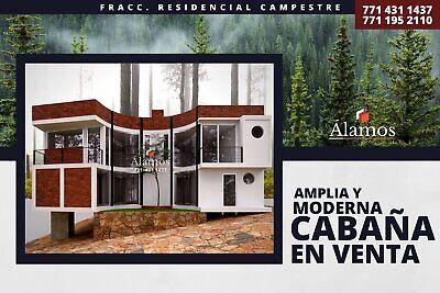 Moderna y Amplia Cabaña; Bosque Residencial; Casa de Descanso; Zona Boscosa; Carr. Mineral del Chico