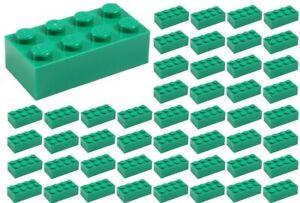 ID 3001 ☀️100 NEW LEGO 2x4 DARK TAN Bricks BULK Parts star wars Harry Potter