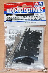 Tamiya-53828-DT-02-Turnbuckle-Suspension-Arm-amp-Tie-Rod-Set-DT02-Holiday-Buggy