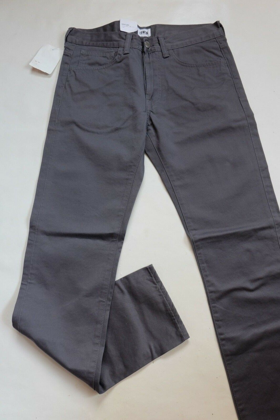 TROUSERS EDWIN ED - ONE (compact twill-battle grey) W31 L32 VAL