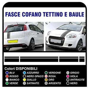 strisce-adesive-per-FIAT-GRANDE-PUNTO-ABARTH-x4-adesivi-per-cofano-tetto-baule