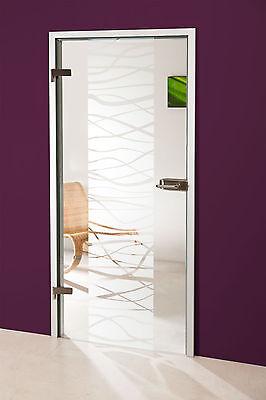 Ehrgeizig Glastür Gds293f Klarglas Mit Dekor Feines Handwerk Zimmertüren