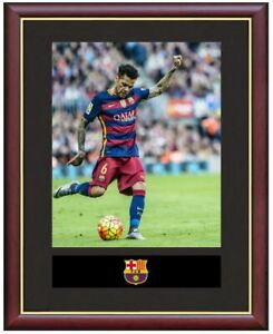 Dani-Alves-Mounted-Framed-amp-Glazed-Memorabilia-Gift-Football-Soccer