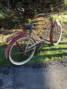 1950s Western Flyer dual springer Front bicycle 26 inch