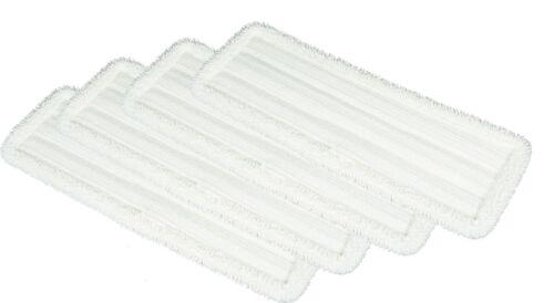 4 Aqua Laser Dual Swing Slim Line Ersatztuch Bodentuch Mop Tuch Kletttbezug NEU
