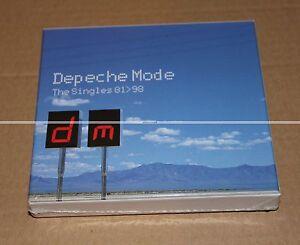 DEPECHE-MODE-SINGLES-81-gt-98-BOX-SET-3-CDs-LIMITED-NEUF