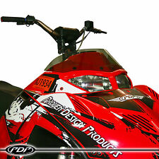 2005-2014 POLARIS IQR / IQRR Racer Snowmobile WINDSHIELD : GLOSS SMOKE