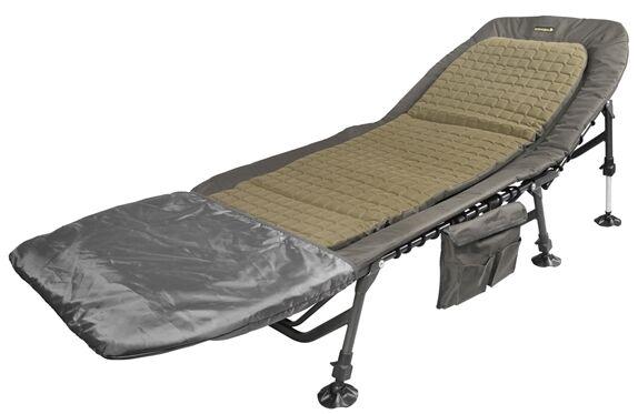 Spro Strategy Low Profile Bedchair Karpfenliege Campingliege Angelliege Liege