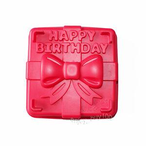 Image Is Loading 8 034 Happy Birthday Gift Box Cake Pan