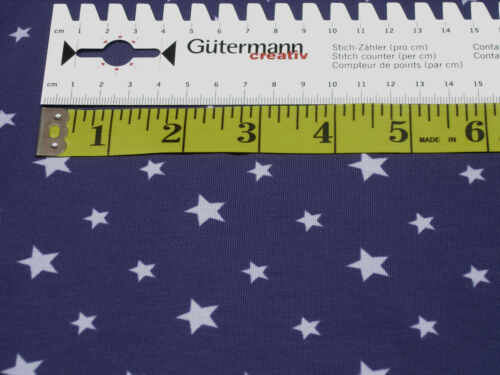 Jersey • Little Darling • Sterne hell-lila auf violett • Baumwoll Jersey • 0,5m