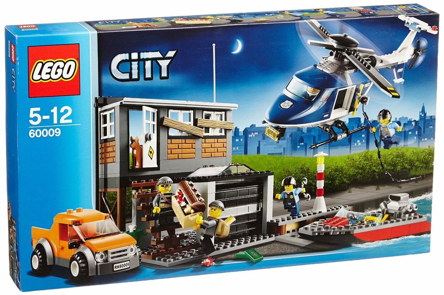 LEGO CITY HELICOPTER ARREST 60009