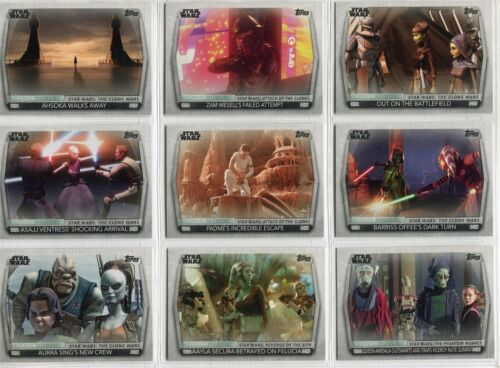 Women Of Star Wars Complete Iconic Moments Chase Card Set IM1-22