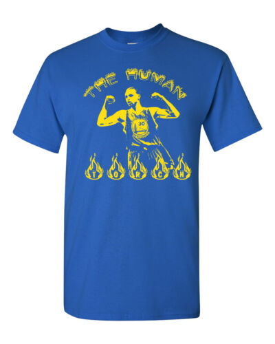 The Human Torch Stephen Curry Golden State Warriors #30 Men/'s Tee Shirt 795