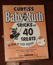 Vintage Curtiss Baby Ruth Halloween Candy Box 1955