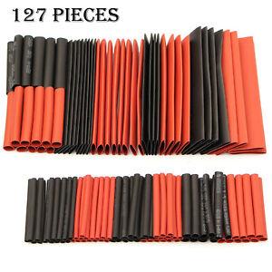 x127-Heat-Shrink-Heatshrink-Tubing-Tube-Wire-Cable-Sleeving-Insulation-Wrap-Kit