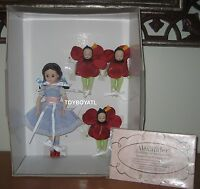 Madame Alexander Wizard Of Oz Dorothy In The Poppy Field 10 Le Doll Set