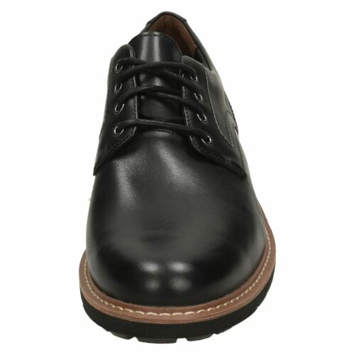 "Rksmens Clarks Smart Lacets Chaussures /""batcombe Hall/"" noir"