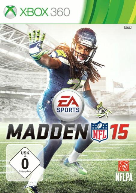 Madden NFL 15 Microsoft Xbox 360 Spiel Zustand Neuwertig PAL Version