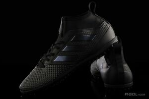 first rate 852f7 da0d7 Details about RARE ADIDAS ACE TANGO 17.3 TF FOOTBALL TRAINERS, UK9, TRIPLE  BLACK, S77084