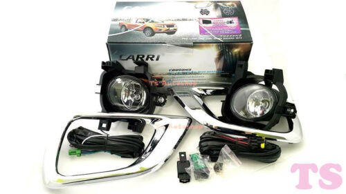 Fit Nissan Navara Np300 Pick Up Truck 2014 15 Ute Set Kit Fog Lamp Spot Light