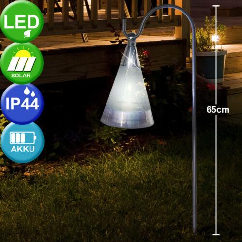 LED Solare esterno sospesa Steck lampada illuminazione VERANDA GIARDINO AIUOLE Lampada sospesa