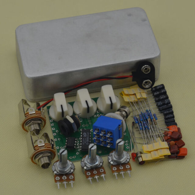 DIY og Delay Effect Pedal Full Kits With1590b and PCB RFEE 1590b Guitar Delay Pedal Schematic on eq pedal schematic, guitar tube preamp schematic, reverb pedal schematic,