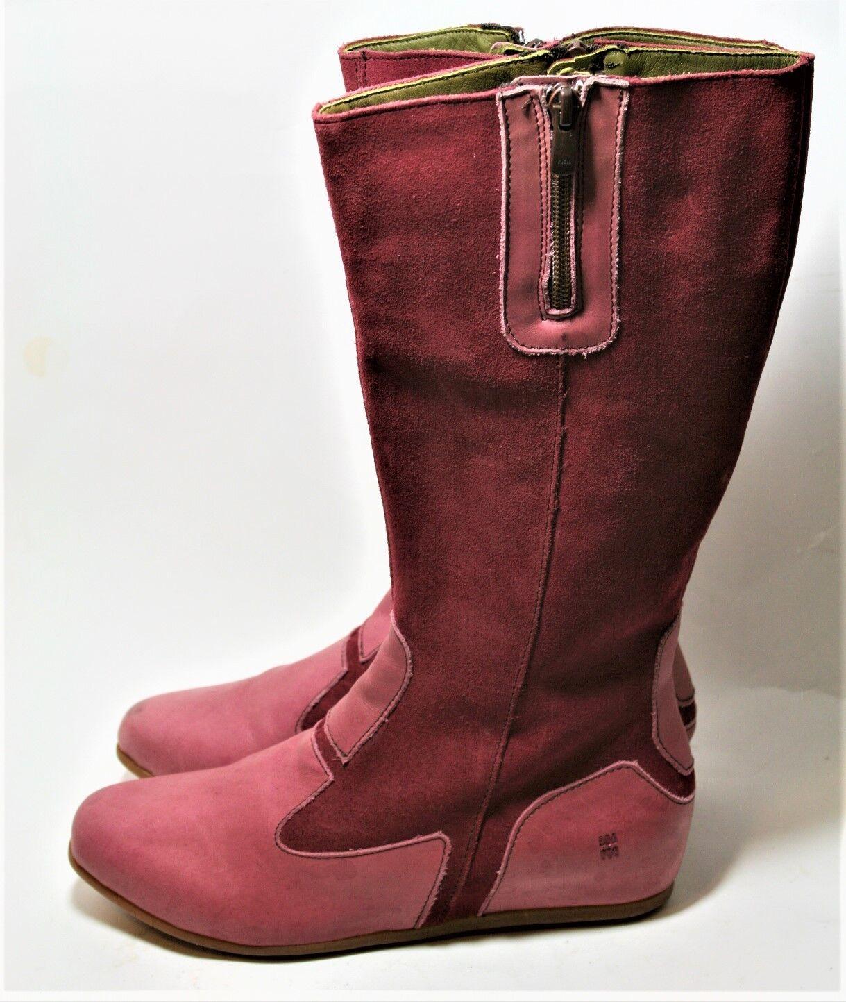 El naturalista naturalista naturalista zapatos N037 Stella Alto botas Riojas Cuero De Gamuza 37 cuña oculta  tienda en linea