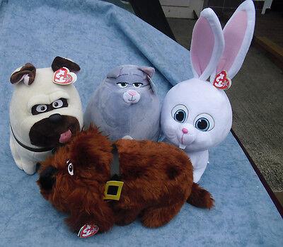 W-F-L TY The Secret Life Of Pets Movie 25 CM Stuffed Animals Buddy