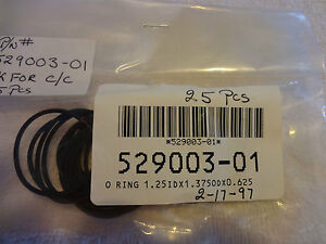 ADE 529003-01 O-Ring 1.25 ID x 1.375 OD x 0.625, 30 pieces