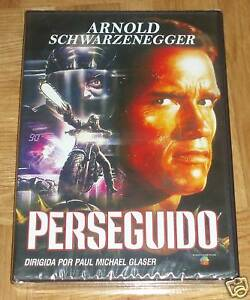 PERSEGUIDO-THE-RUNNING-MAN-DVD-PRECINTADO-NUEVO-SEALED-NEW-ARNOLD-SCHWARZENEGGER