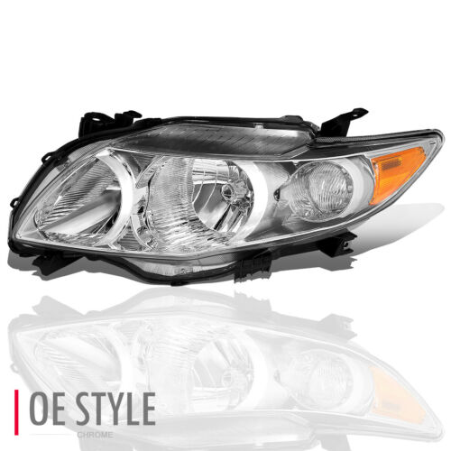 For 2009-2010 Toyota Corolla LH Left Side Bumper Headlight Head Lamp TO2502182