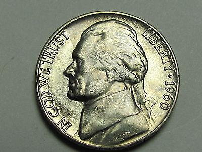 Uncirculated 1960-D Jefferson 5 cent