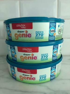 Playtex Diaper Genie Refill pack of 3 ,810 Total 270 count