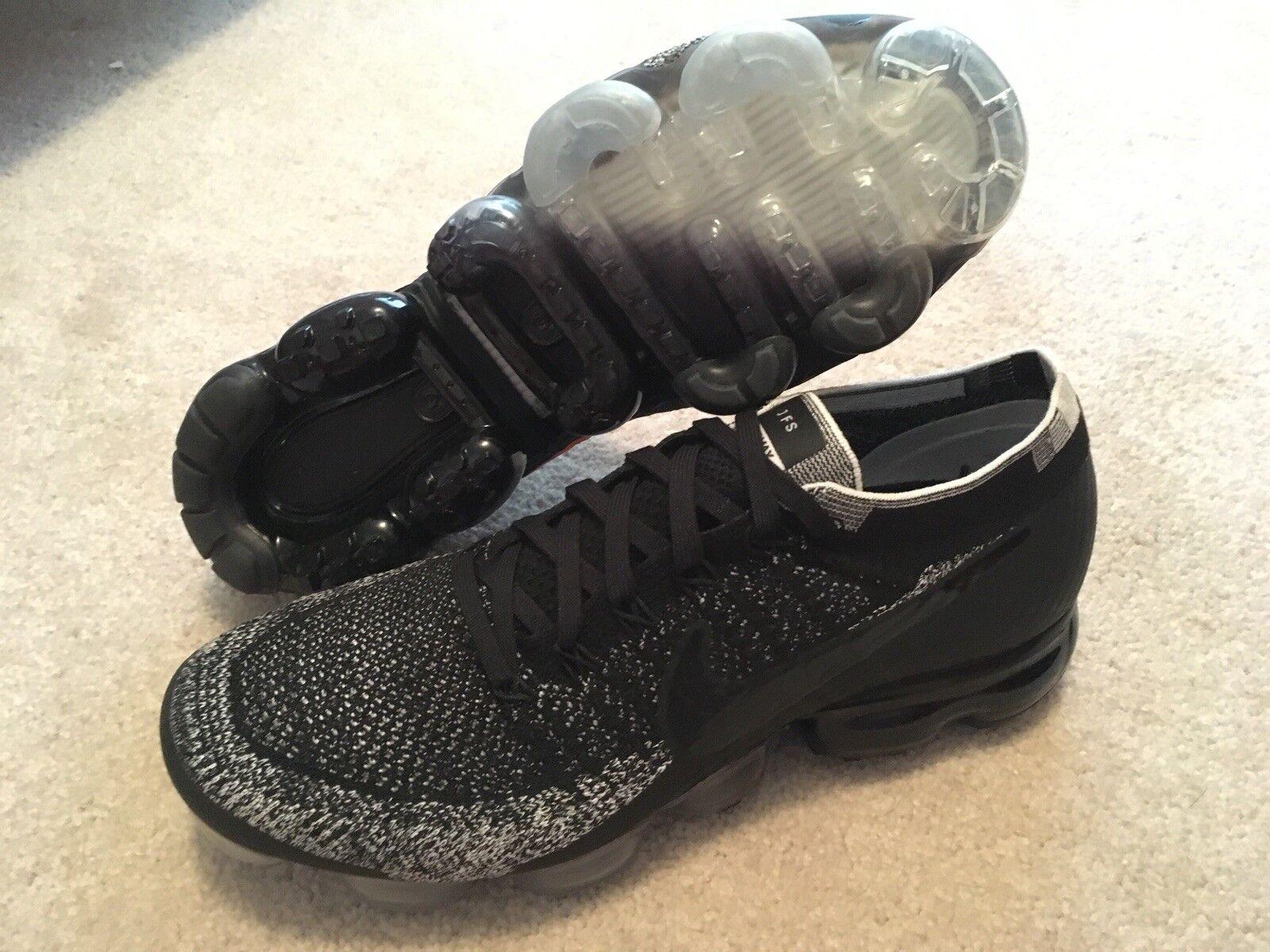 Nike Vapormax Flyknit JFS ID Mens Size 10 Offwhite