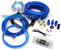 Sqk0 Stinger Sound Quest 0 Gauge Amp Kit Amplifier Install Power Ground Rca Wire on sale
