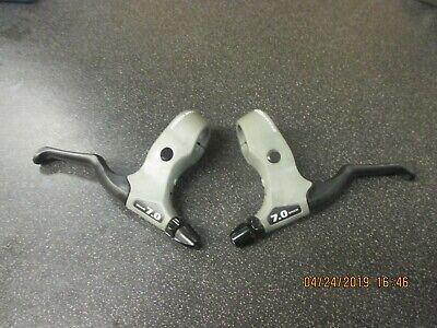 TEKTRO Brake Levers CL 530TS RBP Series Ergonomic Design Linear Pull Black//Gray