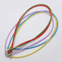 100 Strands Silk Jewelry Cord Neckalces With Brass Lobster Clasps 1718 Us
