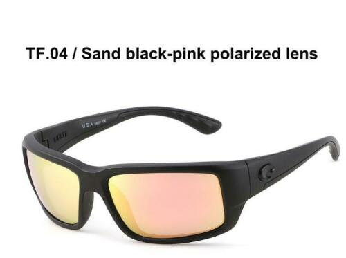 Retro Fantail Frame Polarized Sunglasses Surfing Offshore Angling Sunglasses+BOX