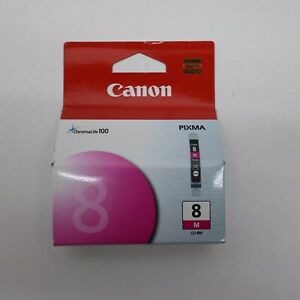 Canon-Pixma-CLI-8M-Magenta-ChromaLife-100-Ink-Cartridge-NEW