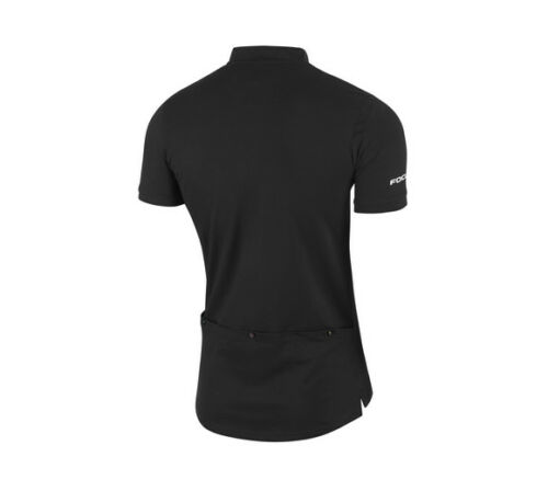 New FOCUS BICYCLE Freestyle Race Polo Shirt w//Rear Pockets Black