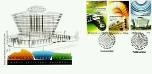 SJ-Energy-Efficient-Building-Environment-Recycle-Malaysia-2009-stamp-FDC