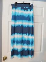 Ana Tie Dyed Super Cute Maxi Skirt, Size M, Cool And Comfortable