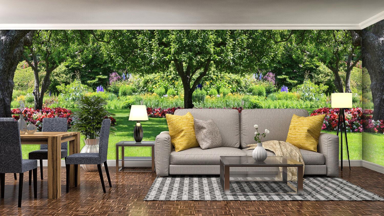 3D greener Waldrasen 477 Tapete Tapeten Mauer Foto Familie Tapete Wandgemälde DE