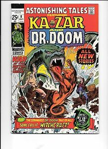 Astonishing-Tales-8-October-1971-Dr-Doom-Ka-Zar
