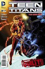 TEEN TITANS #28 KID FLASH GUILTY NEW FEB 2014 DC COMIC BOOK 1