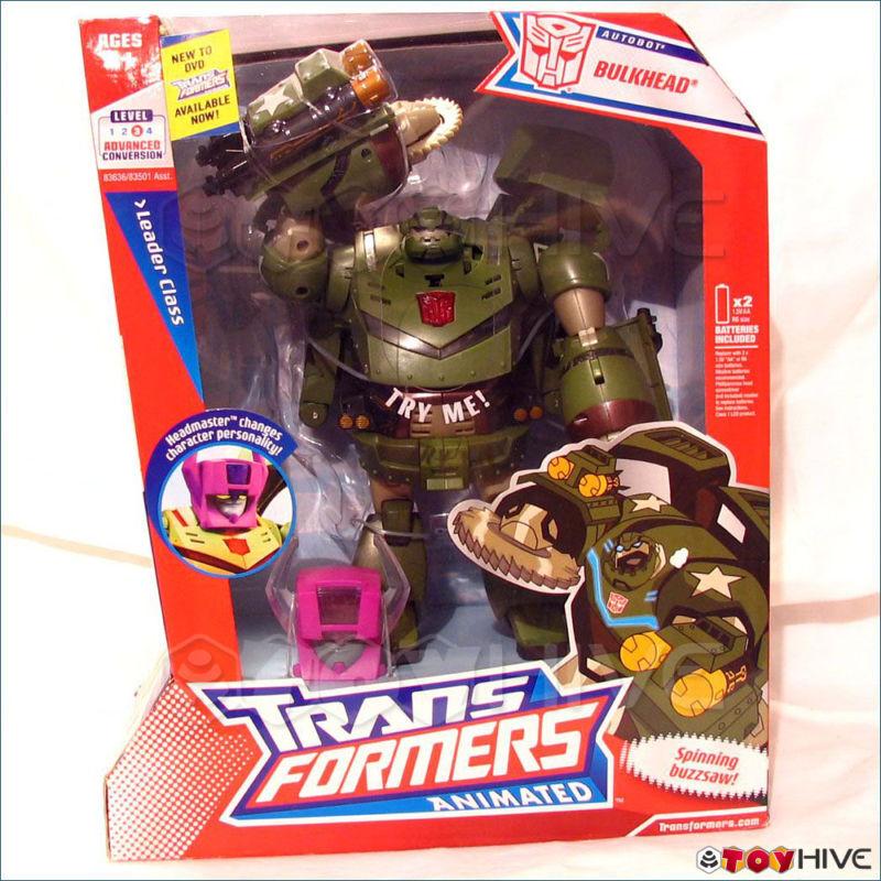 Transformers Animated Autobot BULKHEAD LEADER CLASS 2007 Hasbro