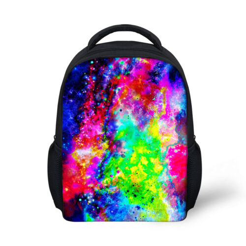 Galaxy Space Small Backpack Toddle Kids Bags School Bag Lunch Bag Mini Rucksack