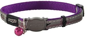 Rogz-Cat-Collar-NightCat-Small-Orange-Purple-Lime