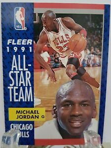 Michael Jordon #211 genuine Fleer 1991